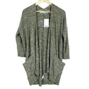 Sparrow Anthropologie Moss Green Knit Cardigan